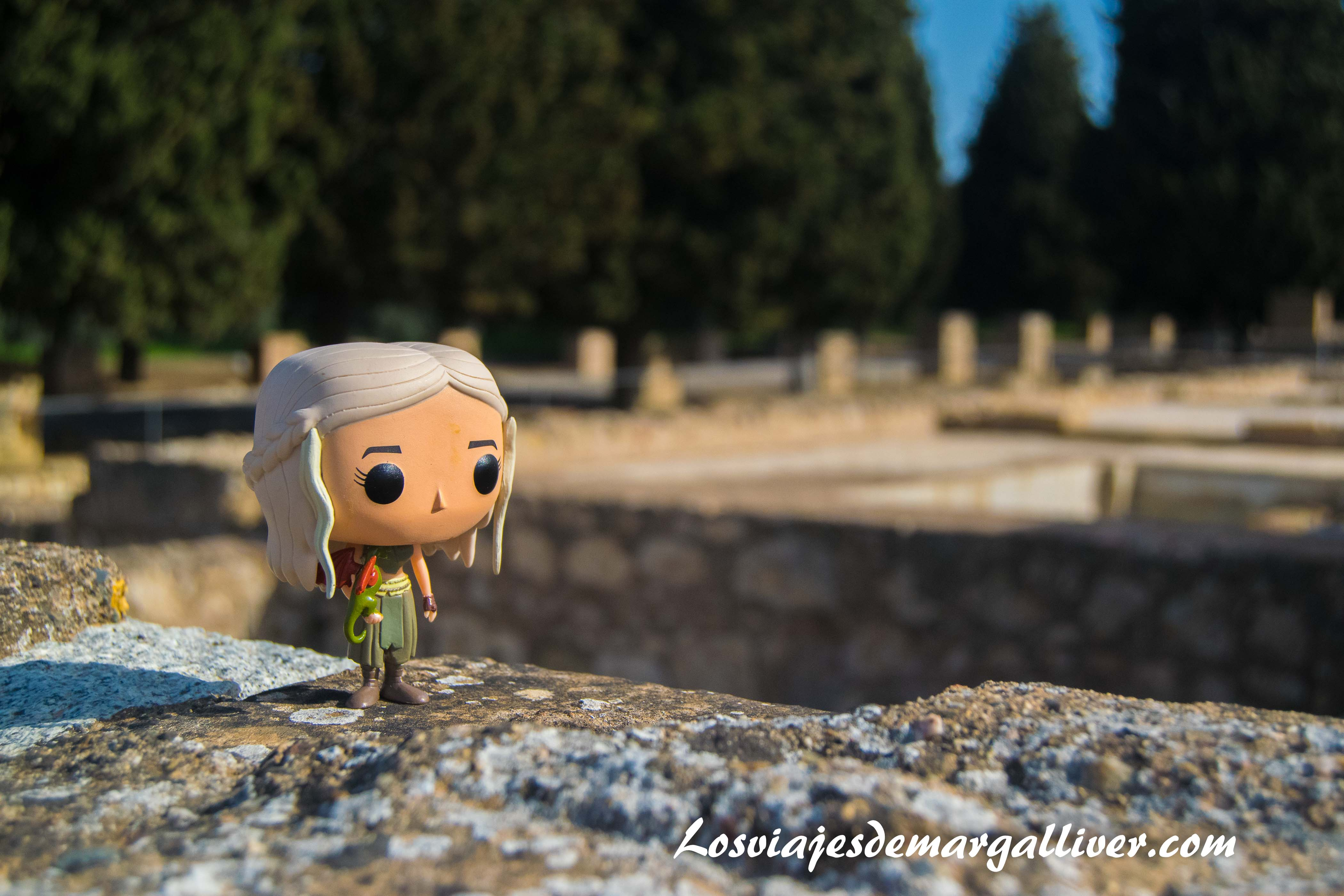 Daenerys en Italica, en la ruta de juego de tronos - Los viajes de Margalliver
